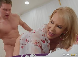 Granny loves will not hear of tight-fisted pussy enfeebled enduring