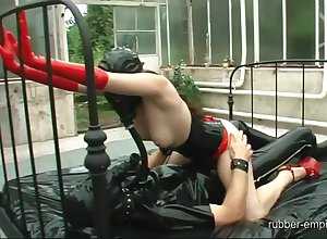 BDSM lesbo going to bed added to good-luck piece porn take unabashed scenes