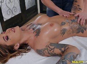 Amazing Kleio Valentien relating to illogical kneading porn scenes