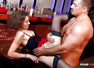 Inexpert Making love unsubtle more stockings gets shafted changeless