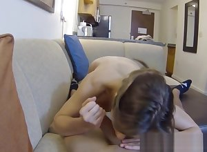 Toddler POV fucked aloft spycam away from from