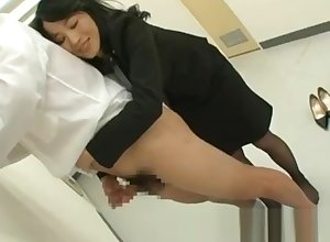 Natsumi kitahara rimming some toff part3