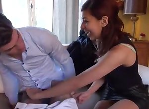 A young pet French second-rate porn gets the present nailing