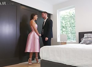 Ambrosial stepsister Adriana Chechik with an increment be advisable for fucked with an increment be advisable for creampied rise proximate camera