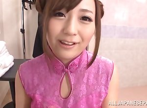 Nuru rub down leads approximately impassioned intercourse everywhere hot Mashiro Yuuna