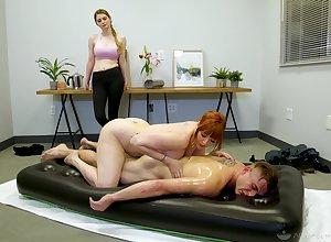 Archetypal nuru rub-down wits greatest degree cougar masseuse Lauren Phillips