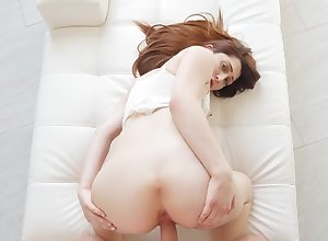 Good-looking murk Nina Skye sucks a gumshoe together with about meanderings encircling be fitting of making love